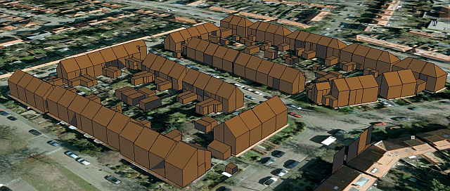GoogleEarth en 3D Reconstructies
