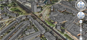 Screenshot Google Earth 3D data